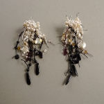 Waltz Me Awake Earrings, Loosely Hinged